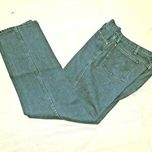 Men's 13MWZPM 38 X 34 Cowboy Denim Jeans